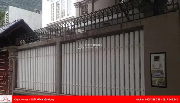 Mẫu hàng rào sắt chống trộm hiện đại - 2