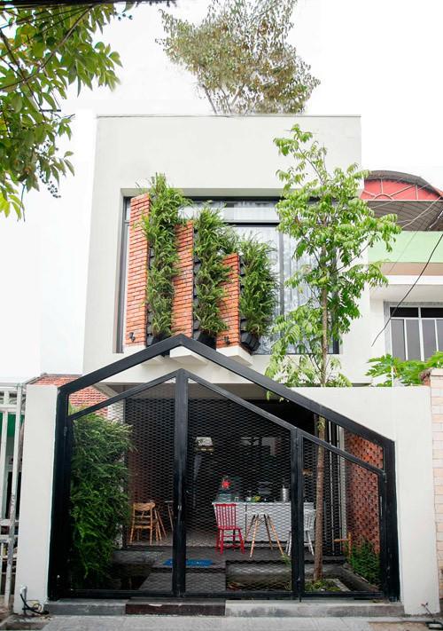 Mặt tiền nhà ống đẹp tại Đà Nẵng