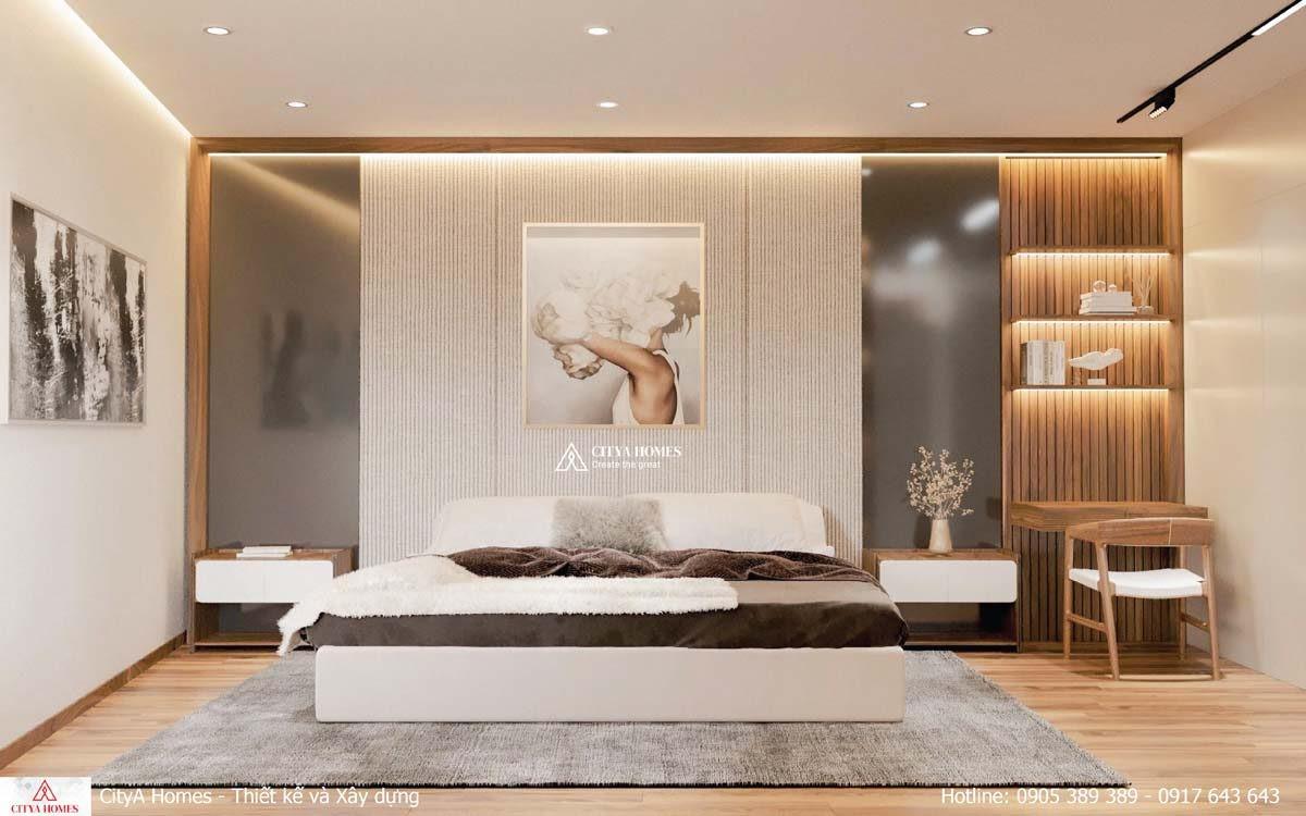 Phòng Ngủ Master Là Không Gian Kết Nối Giữa 2 Yếu Tố Tối Giản Và Cầu Kỳ