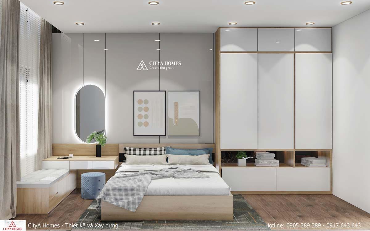 Phòng Ngủ được Bố Trí Gọn Gàng, đem Lại Cảm Giác Thoải Mái Cho Gia Chủ