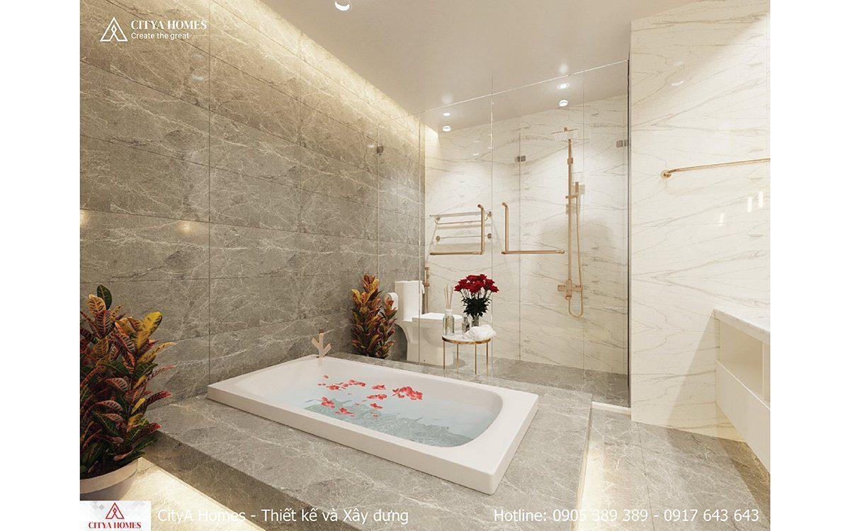 Phòng Tắm Sang Chảnh Hiện đại