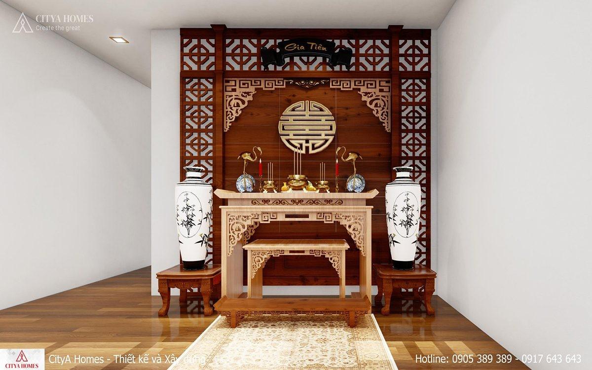 Phòng Thờ đẹp Có Lối Bố Trí Phù Hợp Với Nhà Phố Rộng