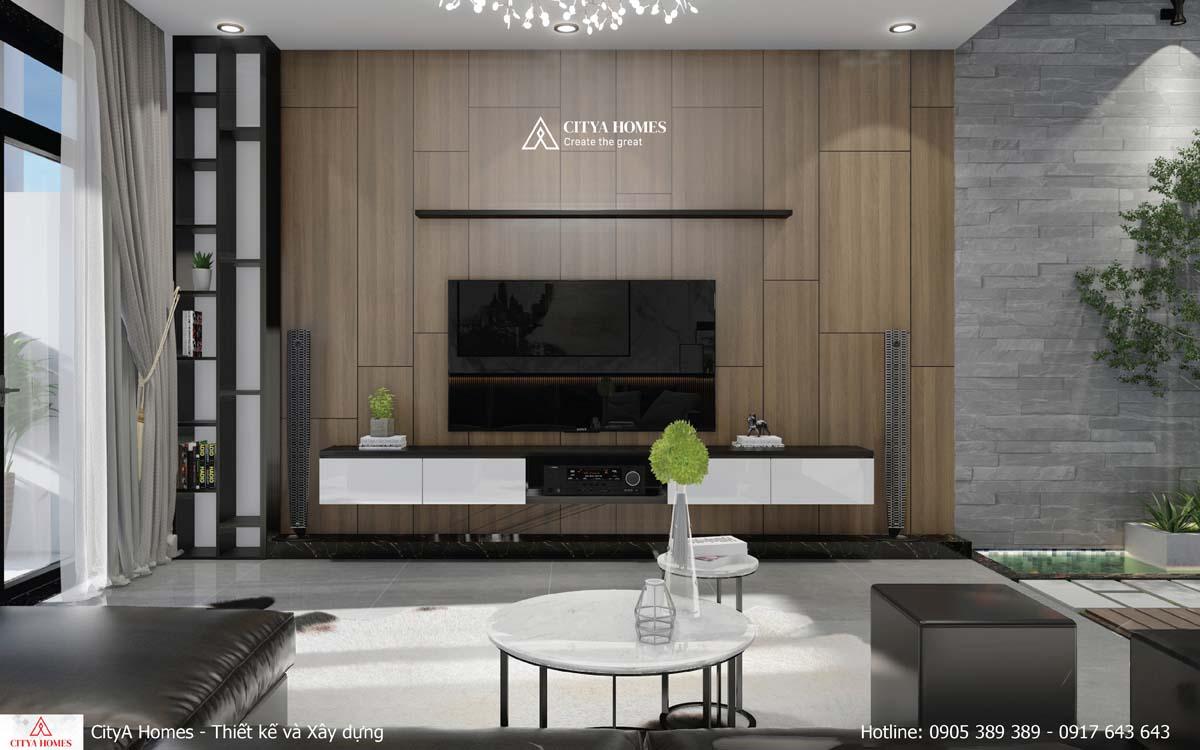 Phòng khách hiện đại theo xu hướng 2021