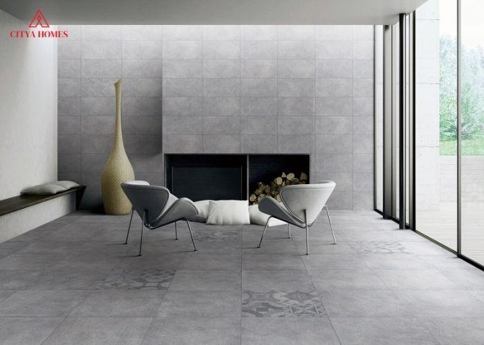 Gạch lát nền Porcelain 600x600