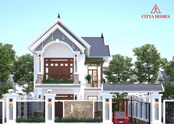 Nhà Mái Thái 1 Trệt 1 Lầu