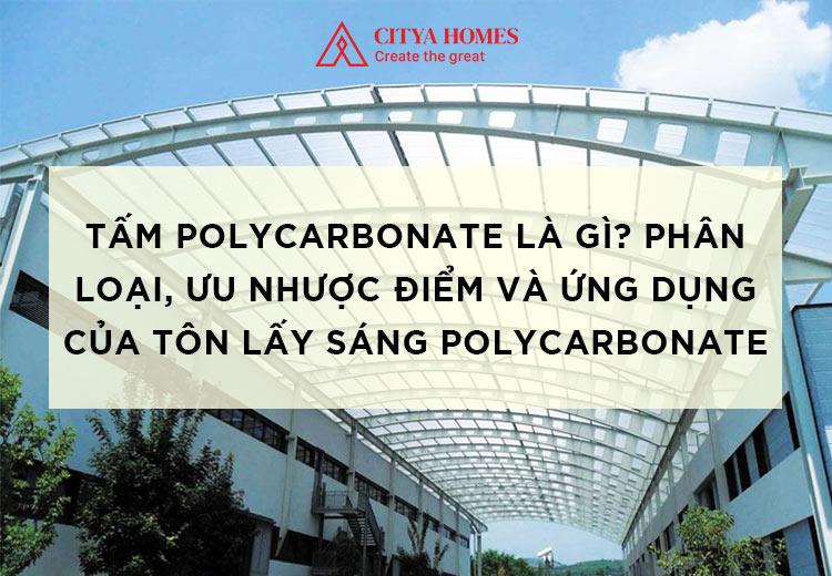 Tấm Polycarbonate