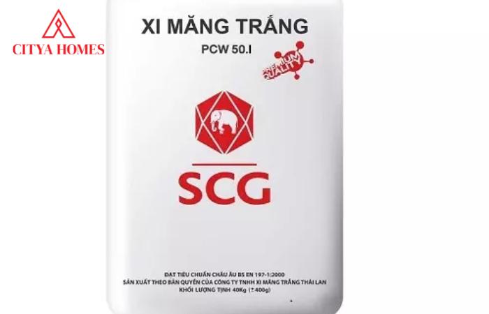 Xi Măng Trắng Pcw 40.i Chuẩn