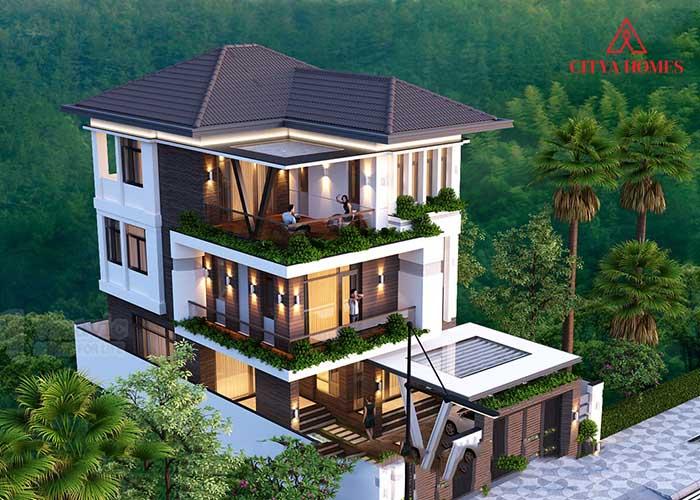 Mẫu Nhà Mái Thái Hiện đại