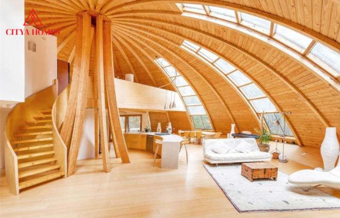 Kiến Trúc Nhà Mái Vòm Dome Home