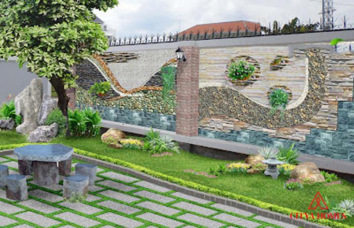 Lý Do Bạn Nên Lựa Chọn Thi Công Tranh Phù điêu đắp Nổi ở Sân Vườn