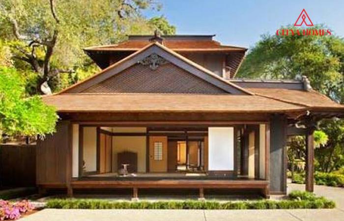 Mẫu Nhà Gỗ đẹp Kiểu Nhật