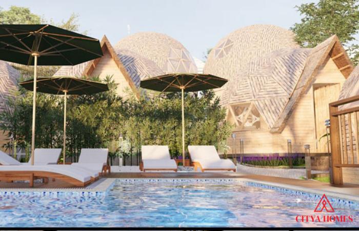 Mẫu Nhà Resort đẹp