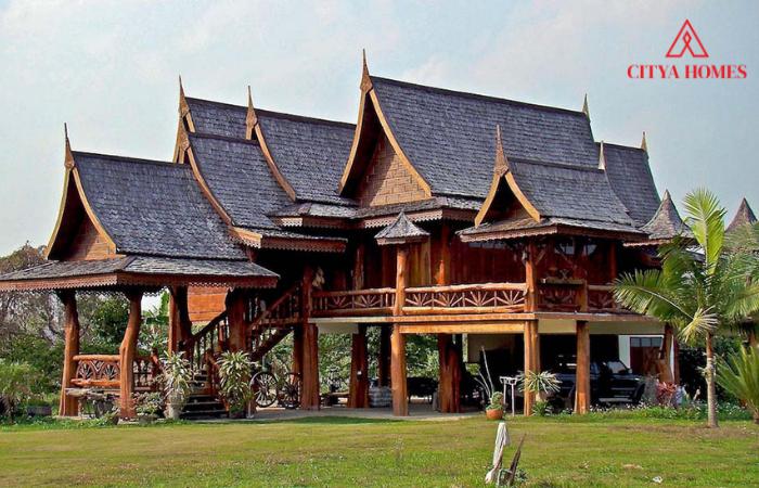 Mẫu Nhà Sàn Gỗ đẹp Kiểu Thái Lan, Lào