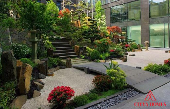 Mẫu Tiểu Cảnh Sân Vườn Phong Cách Nhật Bản độc đáo