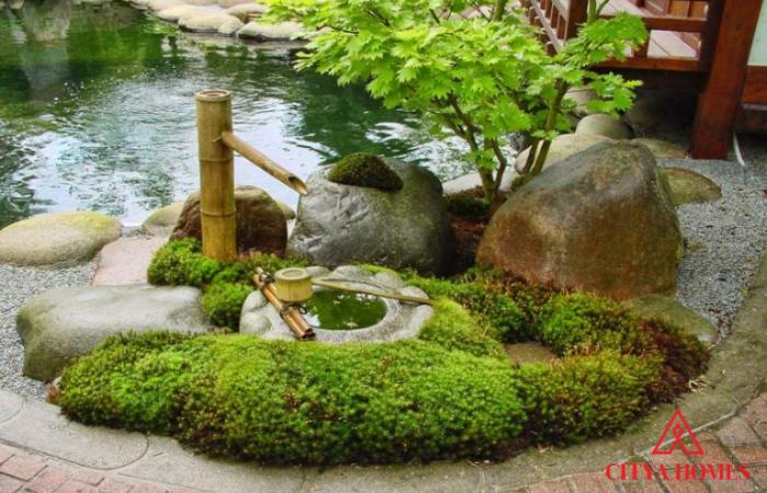Mẫu Tiểu Cảnh Sân Vườn Phong Cách Nhật Bản