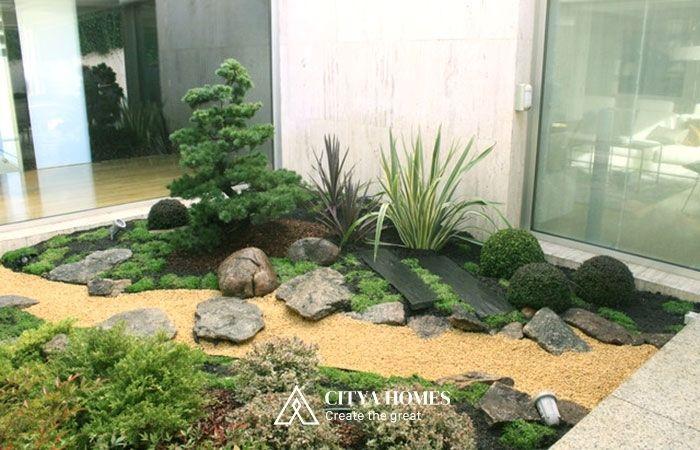 Tiểu Cảnh Cho Sân Vườn Mini