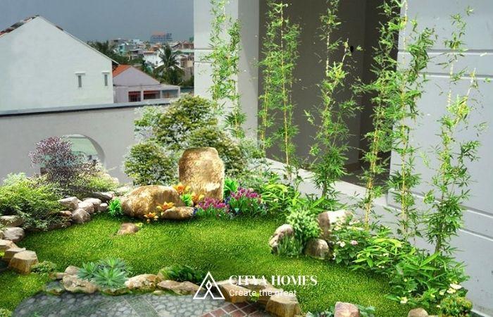 Tiểu Cảnh Cho Sân Vườn Nhỏ
