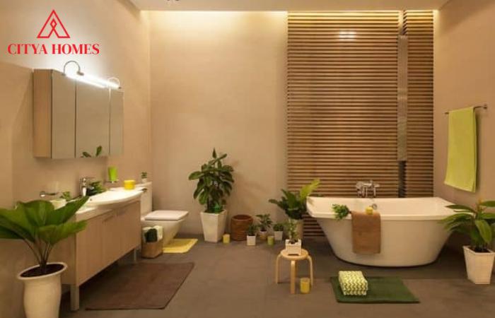 Tiểu Cảnh đẹp Trong Nhà Tắm