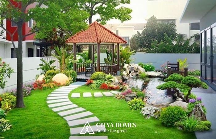 Tiểu Cảnh Sân Vườn Cho Biệt Thự đẹp