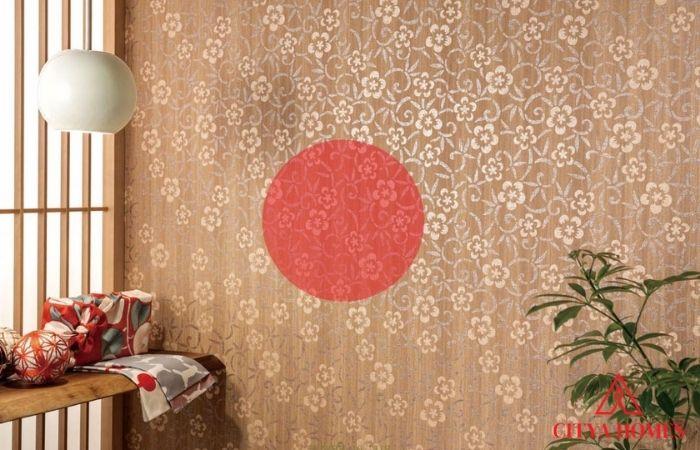Vải Dán Tường Nhật Bản