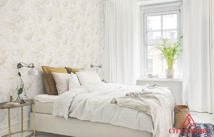 Vải Dán Tường Phòng Ngủ