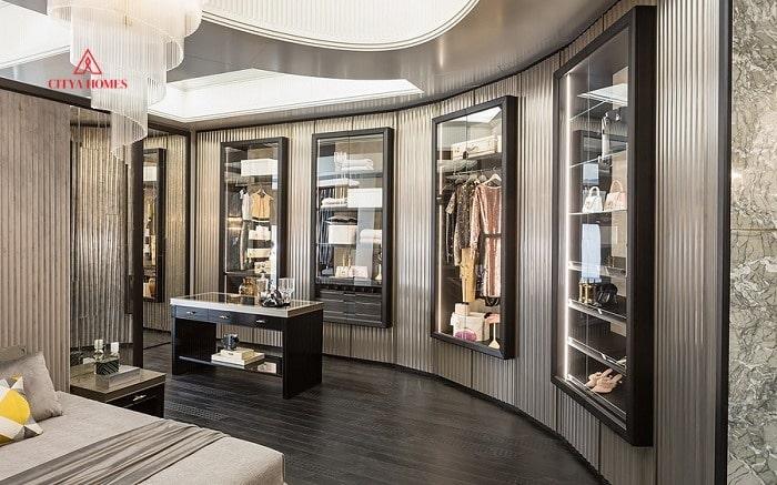 Mẫu Phòng Thay đồ Luxury