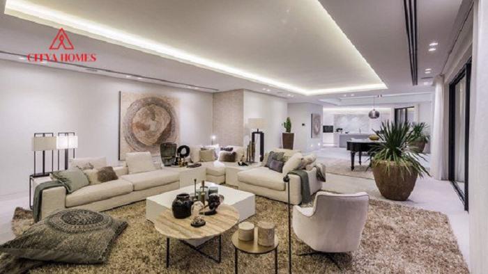 Trang Trí Phòng Khách đẹp Hiện đại 2021