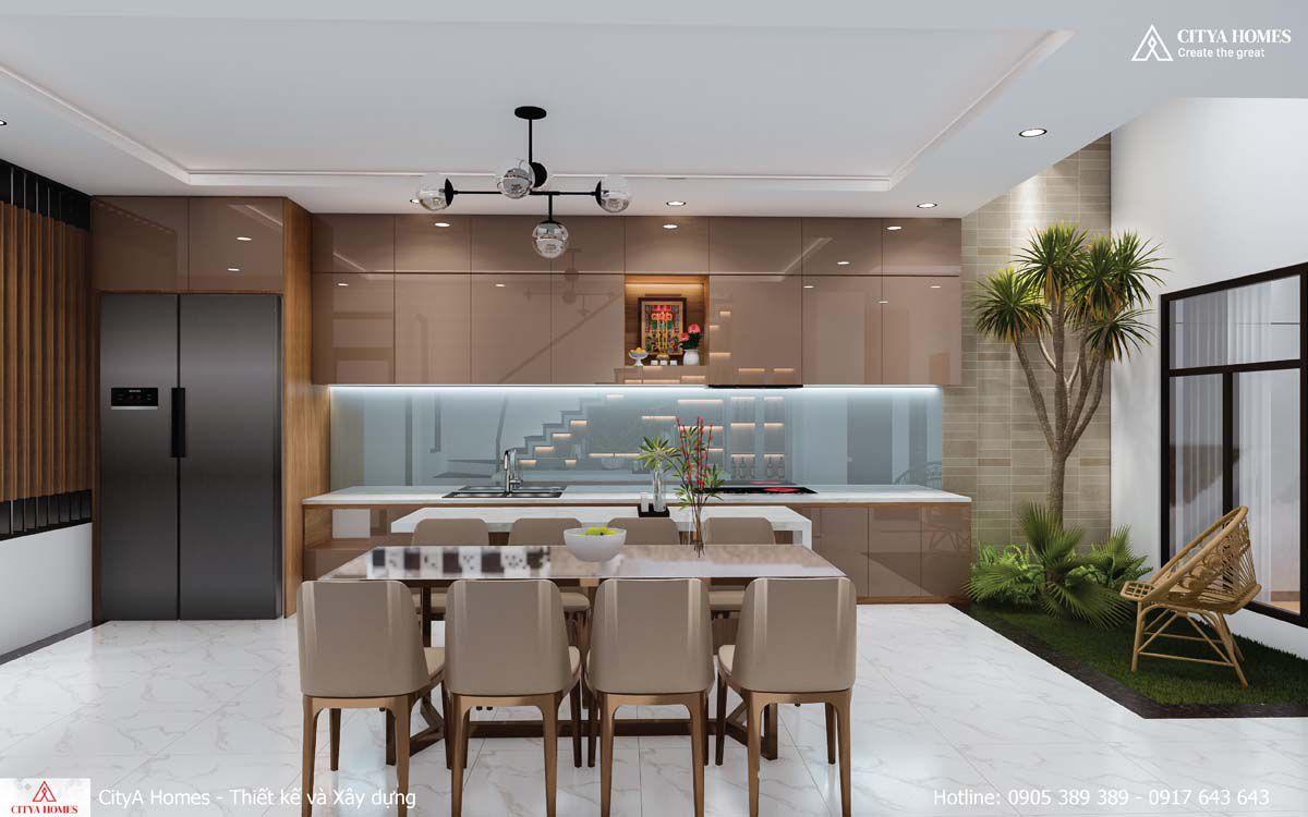 Căn Bếp Hiện đại, Rộng Rãi, Thuận Tiện Cho Việc Nấu Nướng Của Cả Gia đình