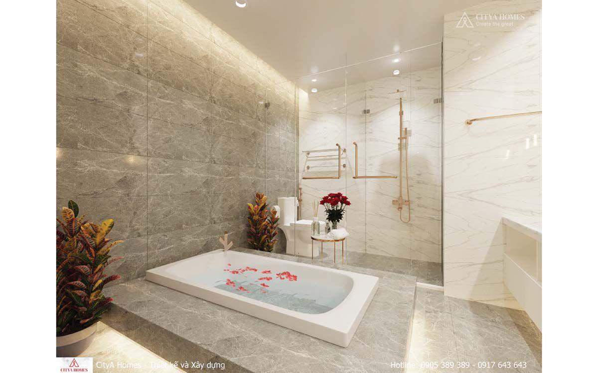 Phòng Tắm Vừa Có Bồn Tắm Nằm Vừa Có Bồn Tắm đứng Rất Tiện Nghi